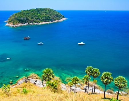Island Phuket in southern Thailand Stock Photo