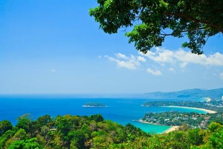 Viewpoint phuket bay city thailand  photo