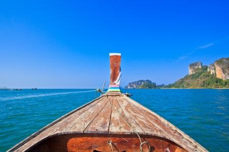 Ship Nose Front View poda Island thailand  photo