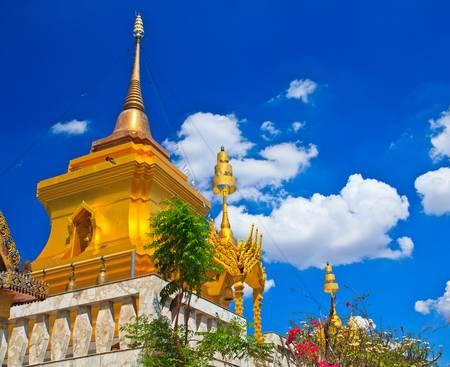 Pagoda and stupa thailand  photo