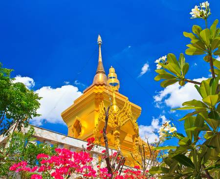 Pagoda and stupa thailand  photo