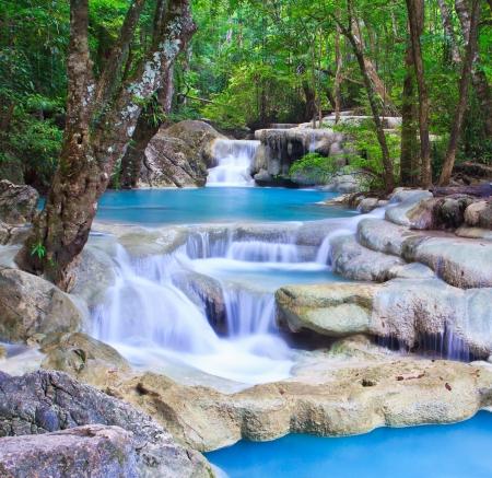 cataract waterfall: Waterfall beautiful asia Thailand
