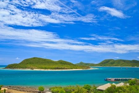 skin diving: Beautiful Islands Thailand  Stock Photo