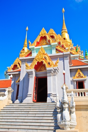 Temple Wat Maha Chedi in Prachuap Khiri Khan Province Thailand photo