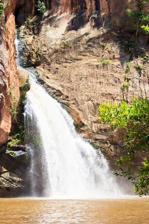 namtok: Chat trakan waterfall in namtok chat trakan national park waterfall phitsanulok province asia southeast asia and asianThailand  Stock Photo
