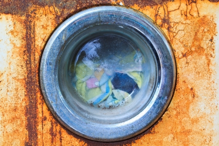 moulder: Old washing machines are washing