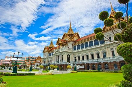 of siam: Royal grand palace in bangkok asia Thailand