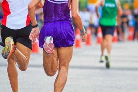 Runner running and marathon Stock Photo - 22302353