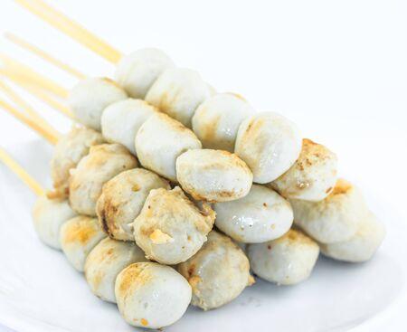 Thai delicious meat ball  photo