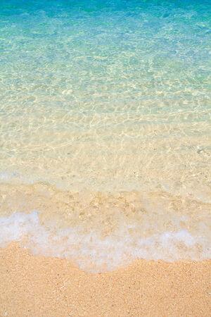 tropical beach: Tropical beach and Wave in Andaman Sea asia Thailand