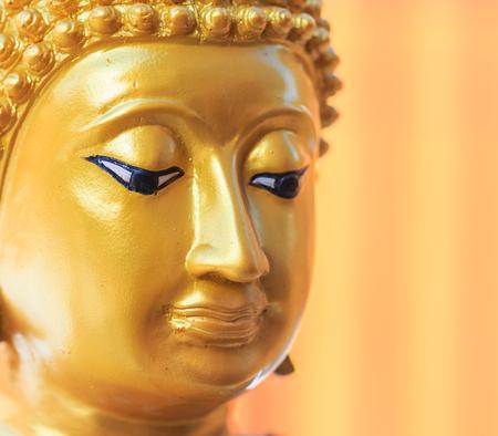 cambodia sculpture: Buddha face and Buddha head in Asia Thailand