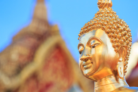 cambodia sculpture: Buddha face and Buddha head in Asia Thailand
