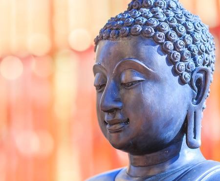 buddha head: Buddha face and Buddha head in Asia Thailand