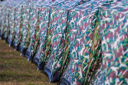 phukradueng: Camping Tent at sunset phukradueng national park
