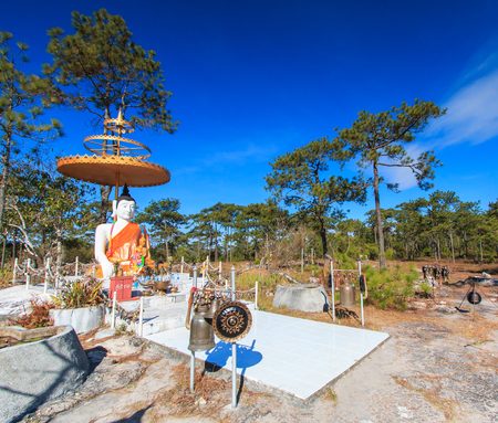 cambodia sculpture: buddha Stock Photo