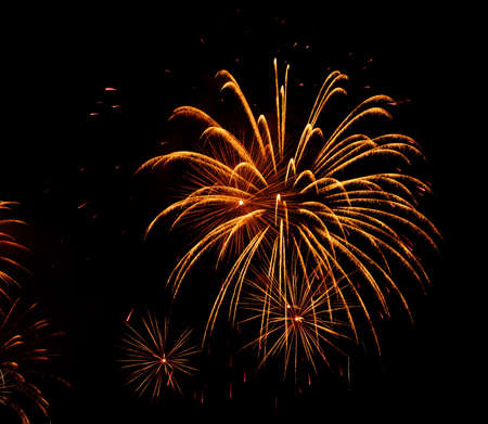 Colorful fireworks photo