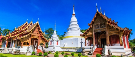 Wat Phra Sing temple Chiang Mai Province Asia Thailand