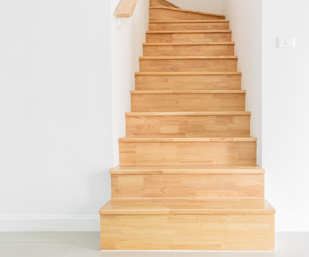 wooden staircase Stock Photo - 27322156