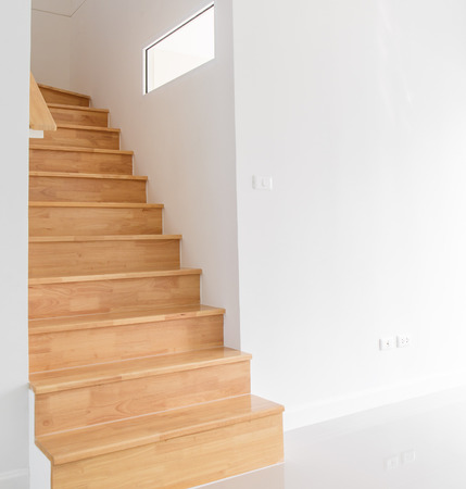 wooden staircase Stock Photo - 27322173