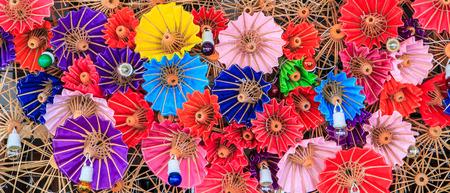 Thailand umbrellas background