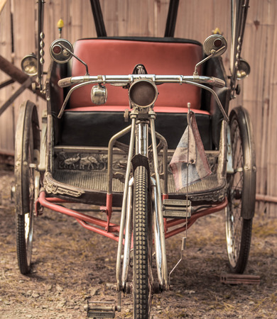 Old bike and tricycle thailand  photo