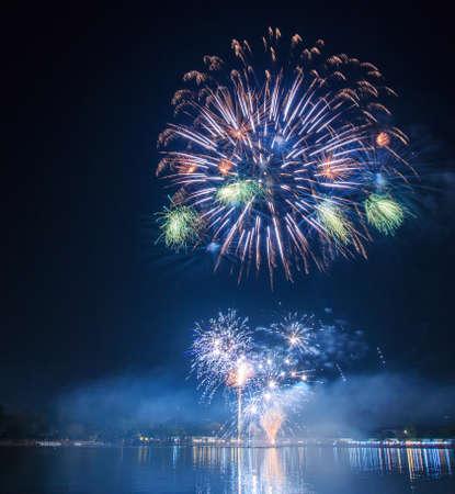 fireworks display: fireworks Stock Photo