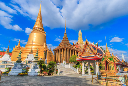 Wat Phra Kaeo, Temple of the Emerald Buddha Bangkok, Asia Thailand  photo