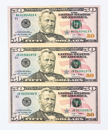dollars pile as background photo