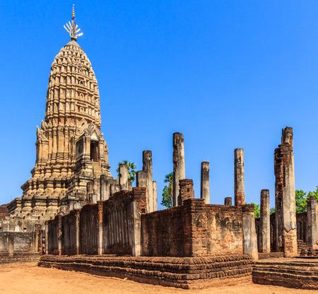 Si Satchanalai Historical Park in old town Sukhothai Thailand Stock Photo