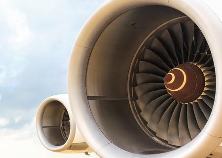 turbine engine: engine jet Stock Photo