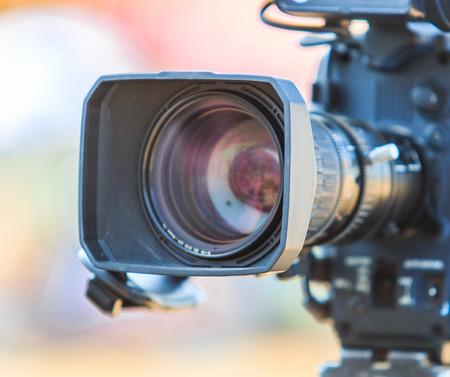 Camcorder Video camera lens