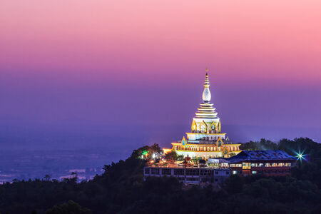 indo china: Wat thaton temple in chiang mai asia Thailand