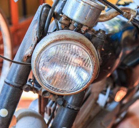 enfield: motocicletta Archivio Fotografico