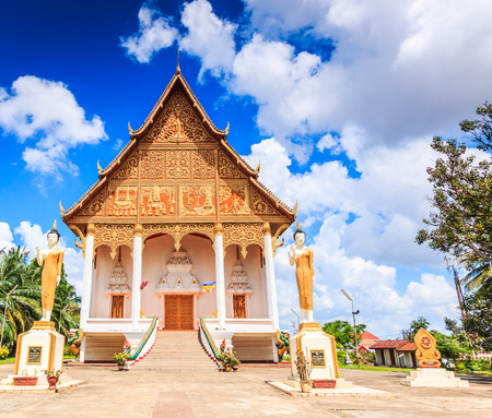restrict: temple Vientiane, Laos , They are public domain or treasure of Buddhism, no restrict in copy or use