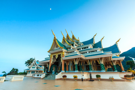 pa: temple wat pa phukon udonthani in thailand. Stock Photo