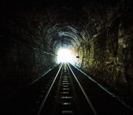 tunnel: railway tunnel