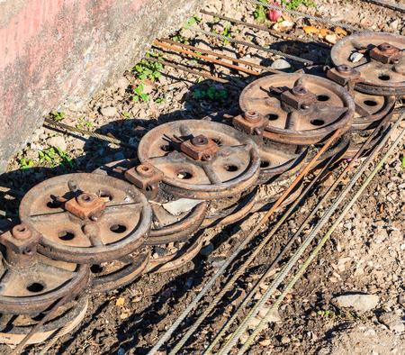 shunt: Shunt equipments - Chopped rail cars railroad