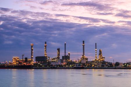 Oil refinery photo