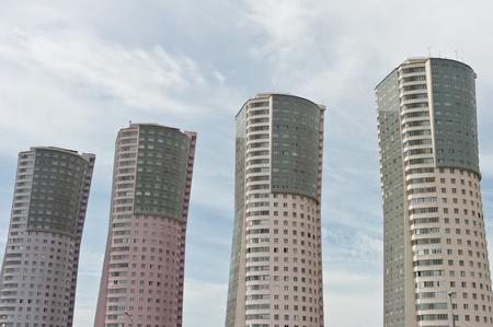 Four skyscraper in Moscow, Russia
