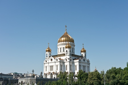 cathedral of christ the saviour in moscow, russia, europe
