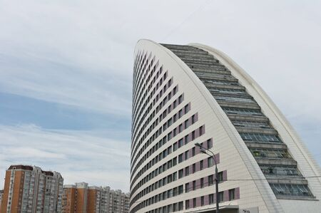 Sail Skyscraper in Moscow, Russia, East Europe Stock Photo