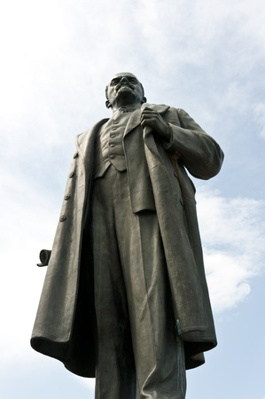 Lenin monument on VVC, Moscow, Russia