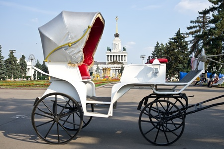 Carriage at VVC, Moscow, Russia