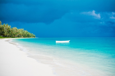 Desert island beach, Banyak Archipelago, Indonesia, Asia photo