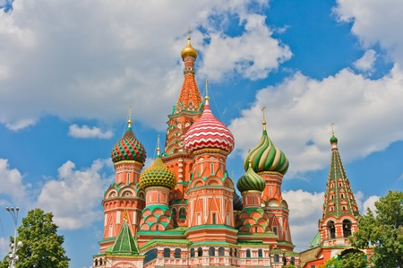 Saint Basil s Cathedral in Moscow, Russia, Europe Stock Photo - 12830373