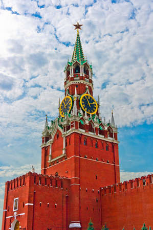 ロシア、東ヨーロッパの古いモスクワ クレムリン