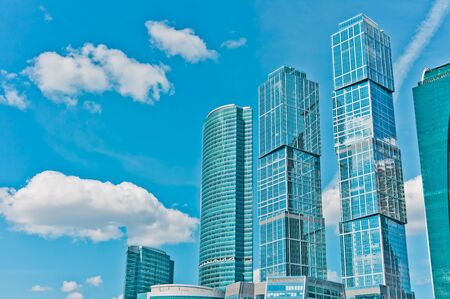 International Business Center in Moscow, Russia, East Europe Stock Photo - 12993604