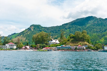 Lake Toba in Parapat Area, Sumatra, Indonesia, Southeast Asia