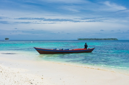 Tropical islands landscape, Banyak Archipelago, Indonesia, Southeast Asia