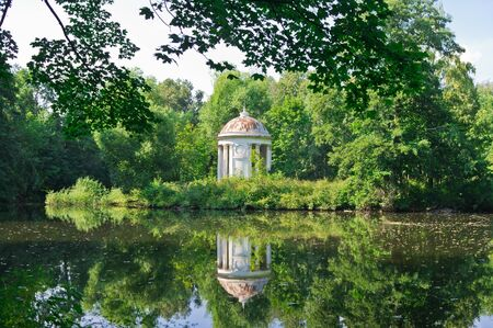 One Ancient Summerhouse in Forest, Moscow region, Russia, East Europe Stock Photo - 13904252